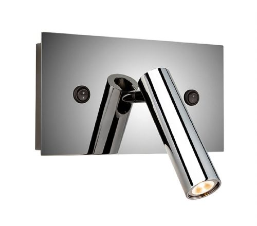 Kent LED Wall Light (Switched), Polished Stainless Steel, 4896PST